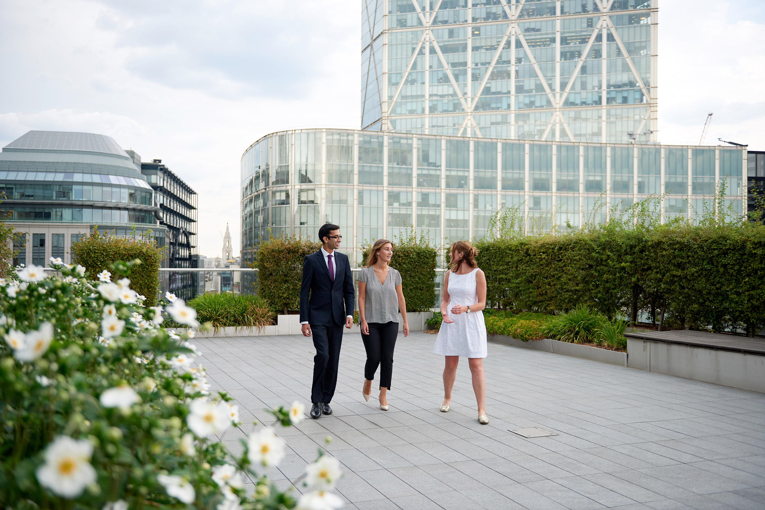 Akin Gump Strauss Hauer & Feld – Best Trainer – US Firm in the City | Roof Garden